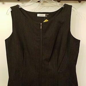 NWT Calvin Klein denim dress